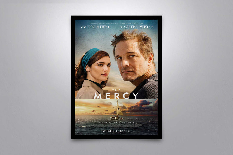 The Mercy - Signed Poster + COA