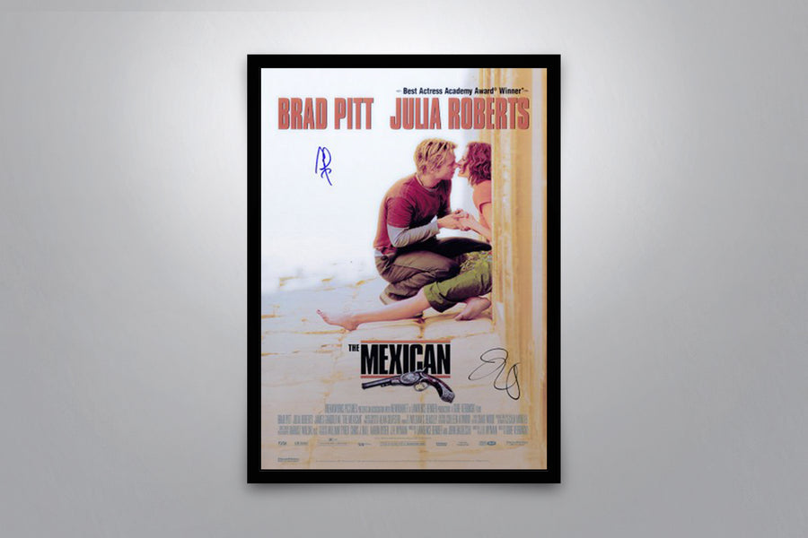The Mexican - Signed Poster + COA