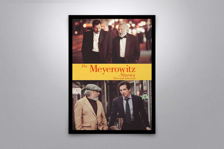 The Meyerowitz Stories (New and Selected) - Signed Poster + COA