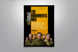 The Monuments Men - Signed Poster + COA