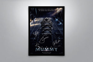 The Mummy 2017 - Signed Poster + COA
