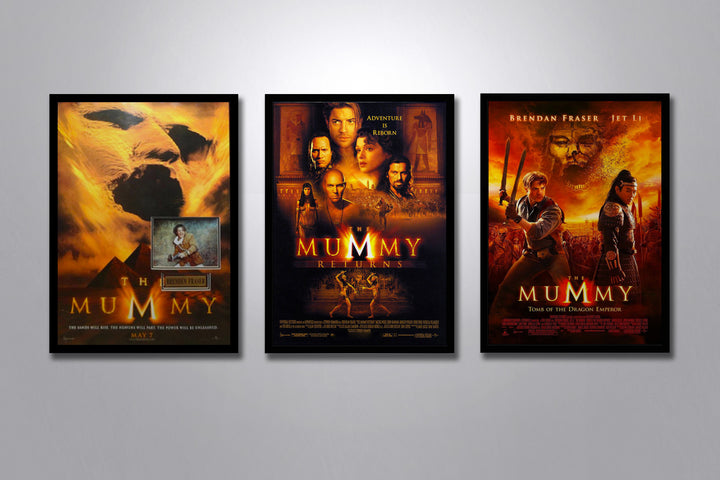 The Mummy Autographed Poster Collection
