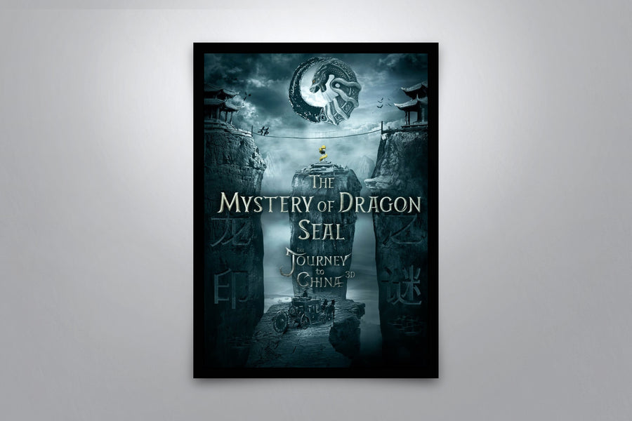 The Mystery of the Dragon's Seal - Signed Poster + COA