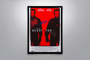 The Negotiator - Signed Poster + COA