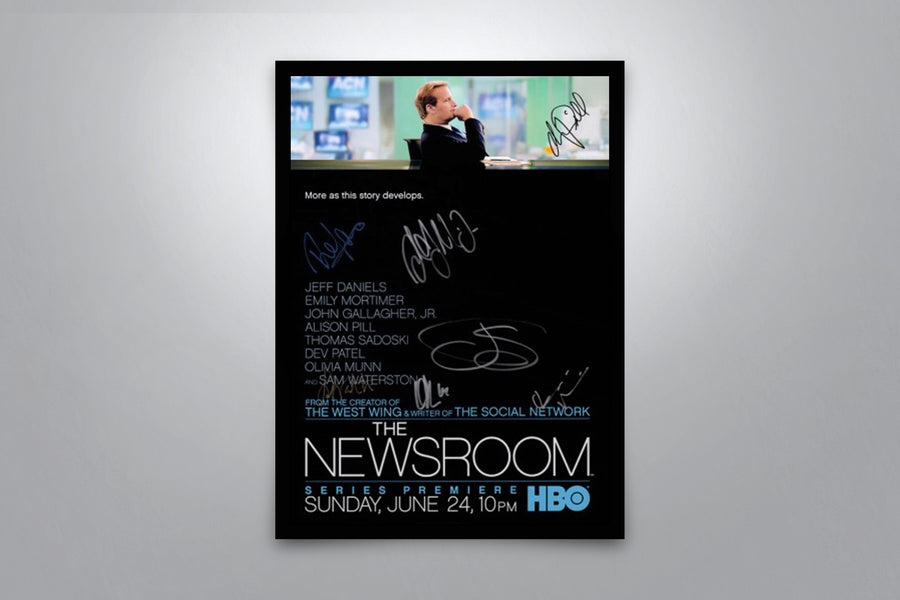 The Newsroom - Signed Poster + COA