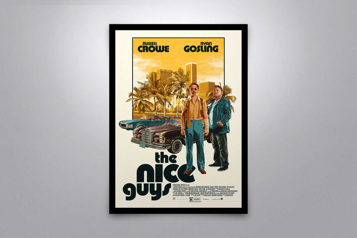 The Nice Guys - Signed Poster + COA