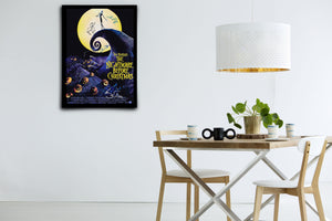 The Nightmare Before Christmas - Signed Poster + COA