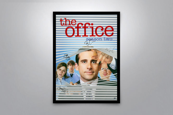 The Office (Season 2) - Signed Poster + COA
