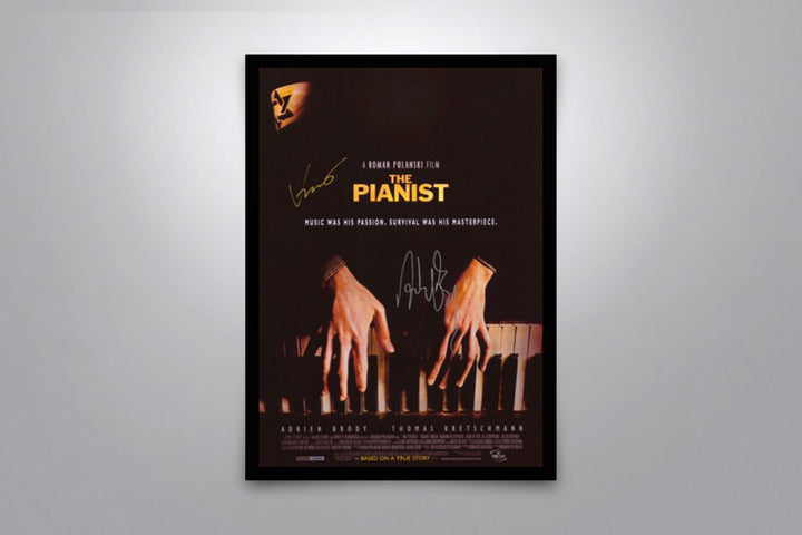 The Pianist - Signed Poster + COA