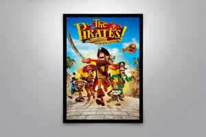 The Pirates! In an Adventure with Scientists! - Signed Poster + COA