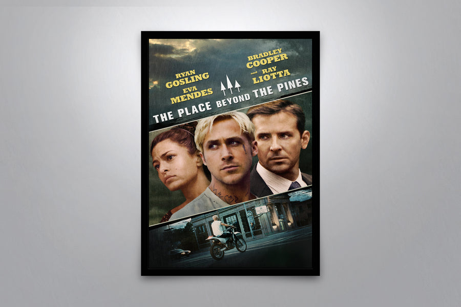 The Place Beyond the Pines - Signed Poster + COA