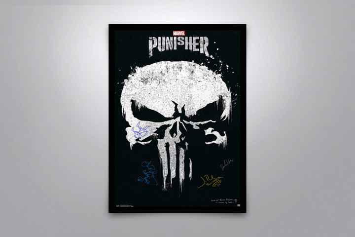 The Punisher - Signed Poster + COA