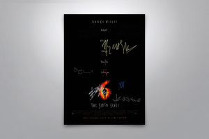 The Sixth Sense - Signed Poster + COA