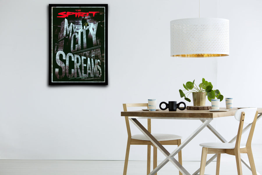 The Spirit - Signed Poster + COA