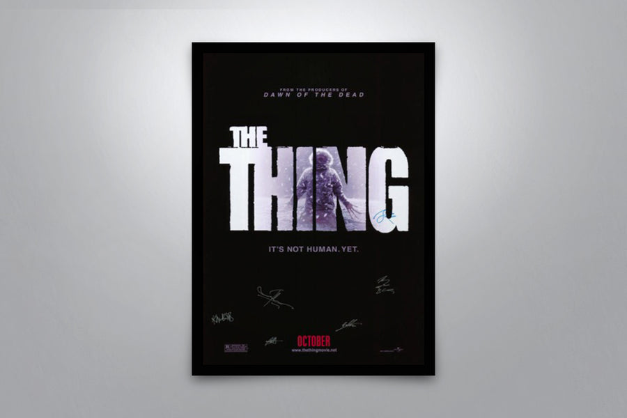 The Thing - Signed Poster + COA