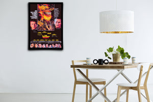 The Towering Inferno - Signed Poster + COA