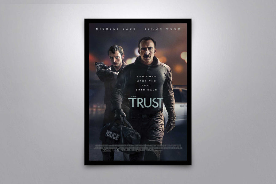 The Trust - Signed Poster + COA
