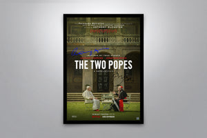 The Two Popes - Signed Poster + COA