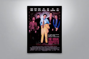 The Usual Suspects - Signed Poster + COA