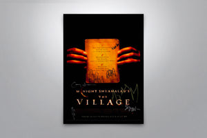 The Village - Signed Poster + COA