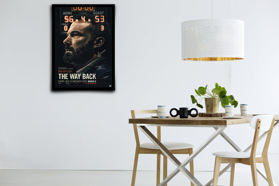 The Way Back - Signed Poster + COA