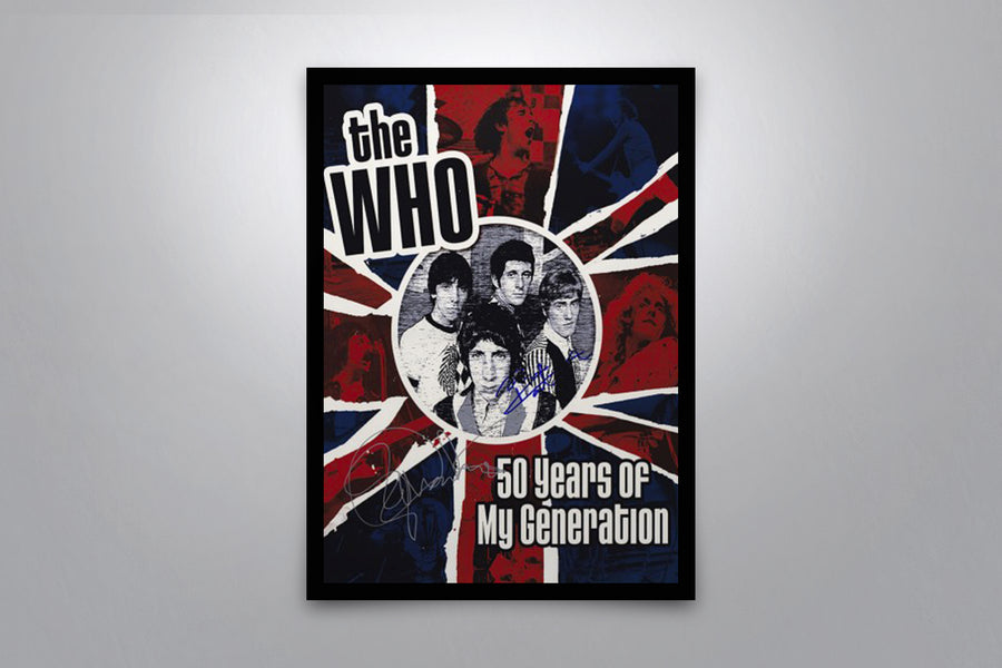 The Who - Signed Poster + COA