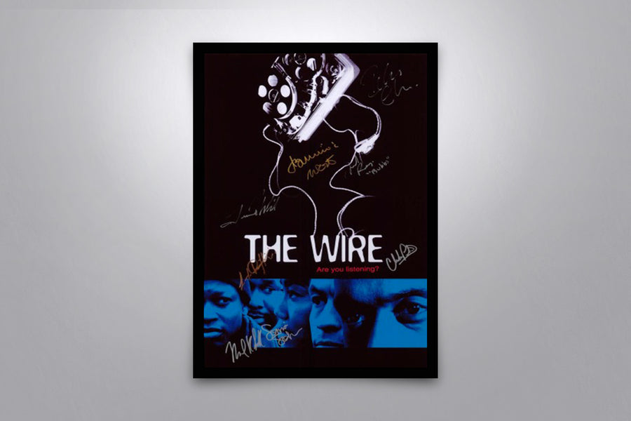 The Wire - Signed Poster + COA