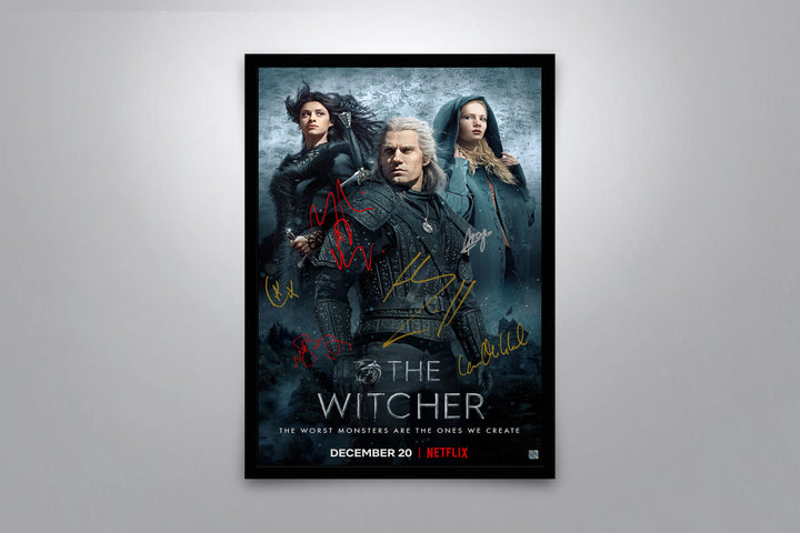 The Witcher - Signed Poster + COA