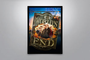 The World's End - Signed Poster + COA