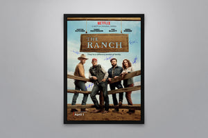 The Ranch - Signed Poster + COA