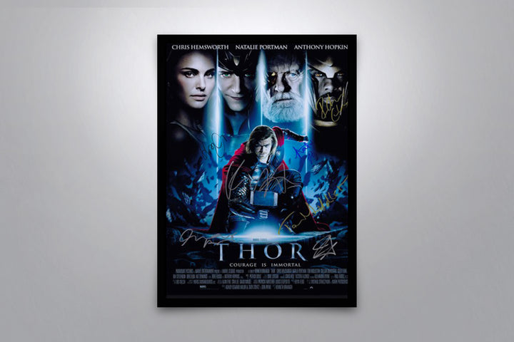 THOR - Signed Poster + COA