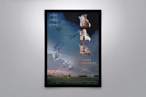 Three Billboards Outside Ebbing, Missouri - Signed Poster + COA