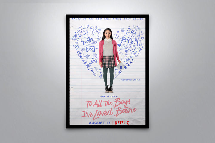To All The Boys I've Loved Before - Signed Poster + COA
