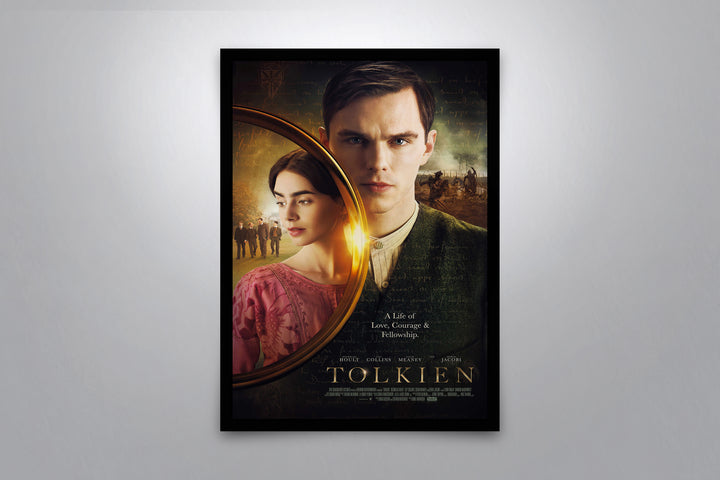 Tolkien - Signed Poster + COA