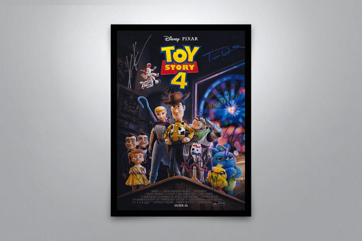 Toy Story 4 - Signed Poster + COA