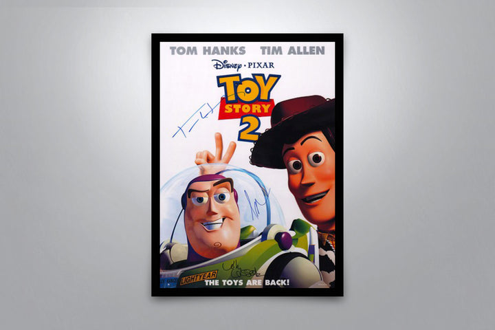Toy Story 2 - Signed Poster + COA