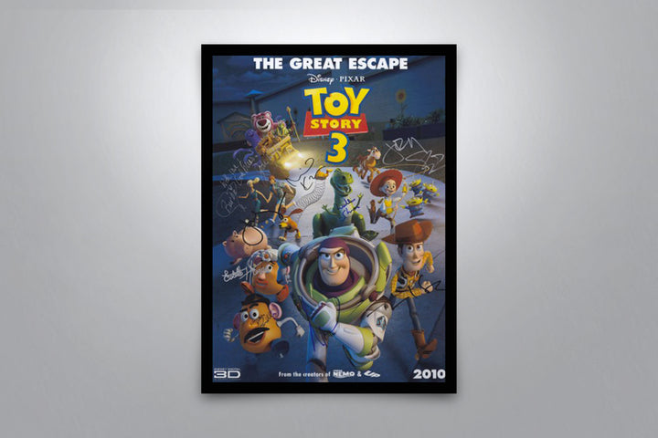 Toy Story 3 - Signed Poster + COA