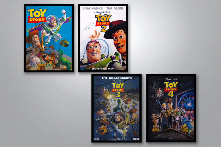 Toy Story  Autographed Poster Collection
