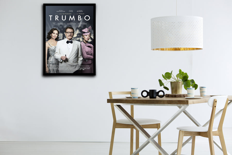 Trumbo - Signed Poster + COA