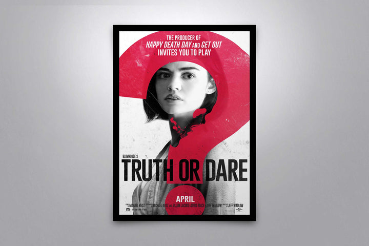 Truth or Dare - Signed Poster + COA