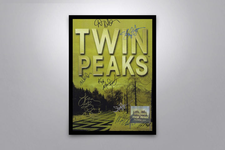 Twin Peaks - Signed Poster + COA