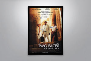 The Two Faces of January - Signed Poster + COA