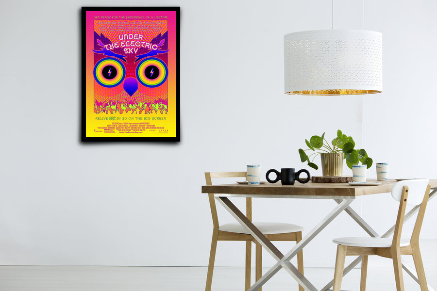 Under the Electric Sky - Signed Poster + COA