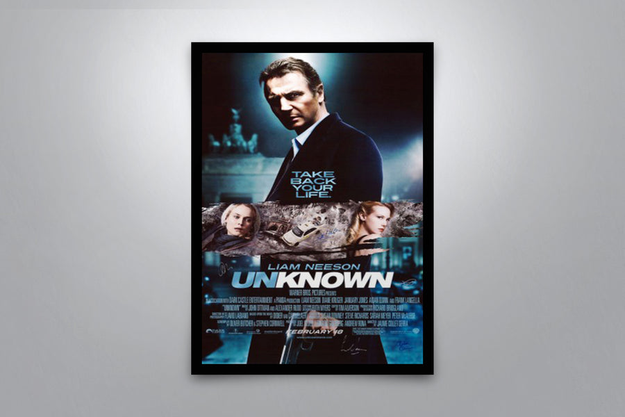Unknown - Signed Poster + COA