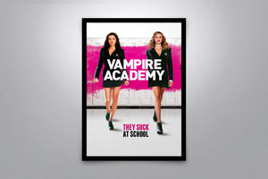 Vampire Academy  - Signed Poster + COA