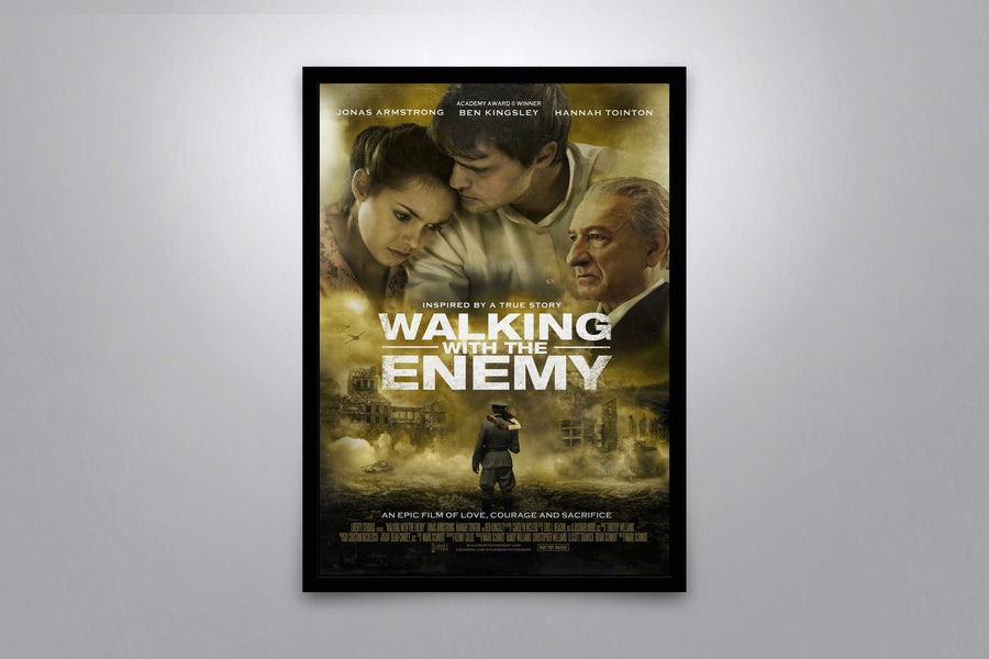 Walking with the Enemy - Signed Poster + COA