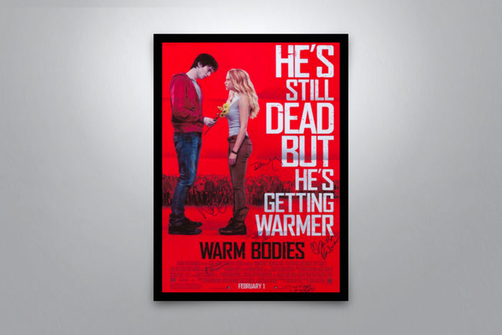 Warm Bodies - Signed Poster + COA
