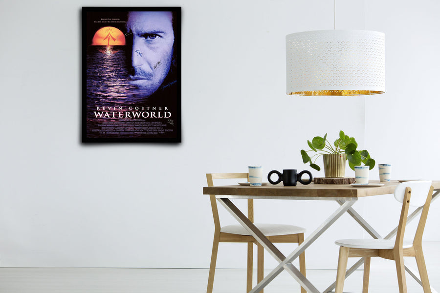 Waterworld - Signed Poster + COA