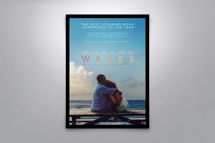 Waves - Signed Poster + COA