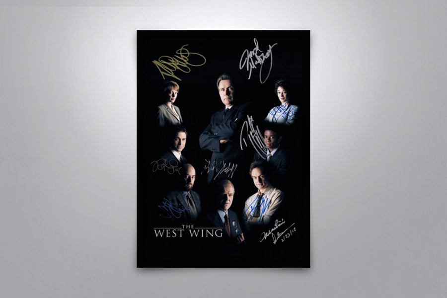 The West Wing - Signed Poster + COA